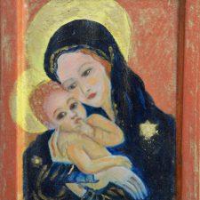 Icoon | Madonna met kind | 1999 | 12×18 cm | ntk