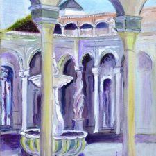 De vila van Pilatus, 2011, olieverf op doek, 40x50 cm, € 200,--